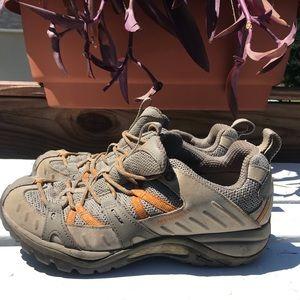 Merrell Brindle Waterproof Hiking Shoes Size 7.5